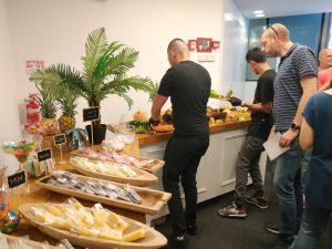 דוכני אוכל במשרדים
